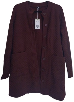 Cos \N Burgundy Cotton Jacket for Women