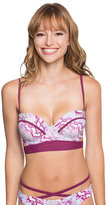 Betsey Johnson Smooth Operator Bump Me Up Bra Top