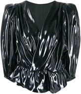 Isabel Marant metallic blouse