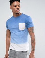 Soul Star Tie Dye Pocket T-Shirt