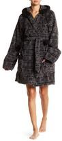 PJ Salvage Plush Hooded Robe Cozy