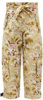 Colville - Floral-print Cotton-twill Combat Trousers - Womens - Multi