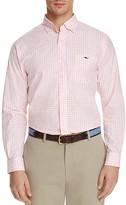 Vineyard Vines Elmont Gingham Tucker Classic Fit Button Down Shirt