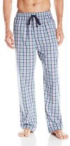 Nautica Men's Navy Plaid Woven Sleep Pant