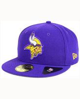 New Era Minnesota Vikings Beveled Team 59FIFTY Cap