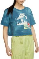 Nike Short Sleeve Graphic Crop Top