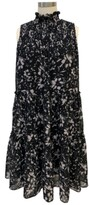 Thumbnail for your product : Taylor Petite Smocked Tiered Dress