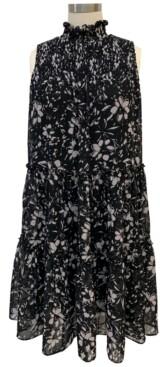 Taylor Petite Smocked Tiered Dress