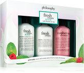 philosophy fresh cream and mint Shower Gel Trio