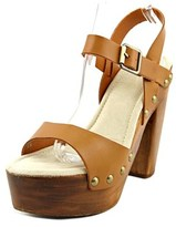 Very Volatile Nakita Open Toe Leather Platform Sandal.