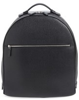 Salvatore Ferragamo Men's 'Revival' Leather Backpack - Black