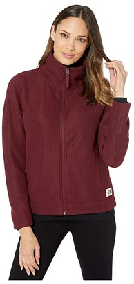 The North Face Sibley Fleece Full Zip Jacket (TNF Dark Grey Heather) Women's Coat