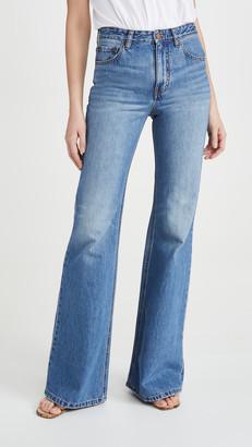 Victoria Victoria Beckham Super High Flare Jeans