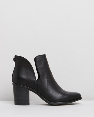 Verali - Women's Black Heeled Boots - Stefan - Size One Size, 36 at The Iconic