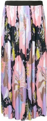 Emilio Pucci Mirabilis graphic-print plisse skirt
