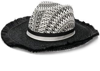 Missoni Mare Beach woven hat