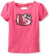 Hello Kitty Girl's Sequin Tee