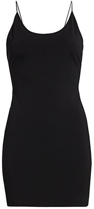 Alice + Olivia Nelle Fitted Slip Dress