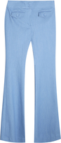 ADAM by Adam Lippes Chambray Trousers