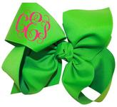 Party Cat Personalized Emerald Bow