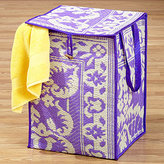 Rio Collapsible Storage Basket, Purple