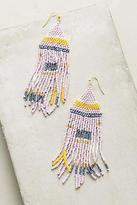 Anthropologie Geo Pastel Drop Earrings