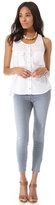 Mother The Looker Ankle Zip Skinny Jeans