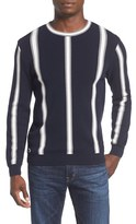 Lacoste Men's Striped Crewneck Sweater