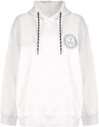 Adidas Originals By Alexander Wang Wang print hoodie