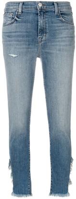 J Brand Ruby straight-leg jeans