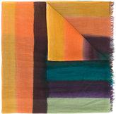 Paul Smith chunky stripe scarf - men - Cotton - One Size