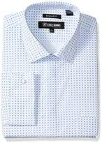 Stacy Adams Men's Big and Tall Two Tone Dot Classic Fit Dress Shirt