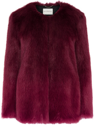 Mary Katrantzou Thalia Fur Coat