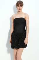 Adrianna Papell Ruffle Skirt Tulle Dress