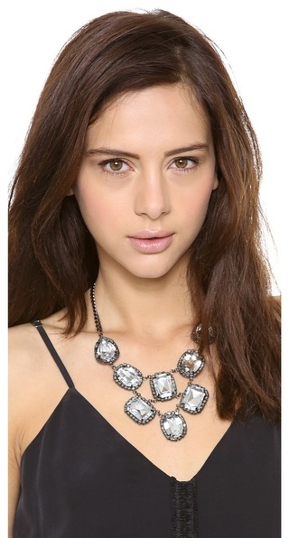 Adia Kibur Crystal Statement Necklace