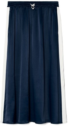 Tory Burch Satin Track Skirt