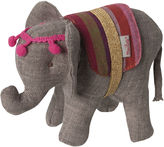 Maileg North America Circus Elephant, Gray/Multi