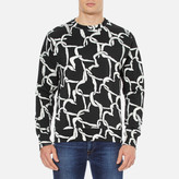 Paul Smith Men's Crew Neck Sweatshirt Black
