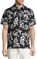 Ovadia & Sons Floral Cotton Camp Shirt