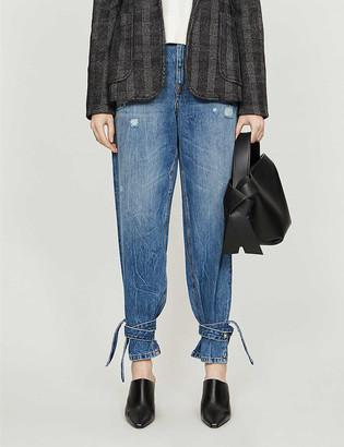 Pinko Maddie 5 high-rise straight jeans