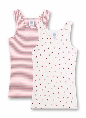 Sanetta Girl's Unterhemd Im Doppelpack Vest
