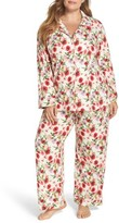 BedHead Plus Size Women's Flower Print Pajamas