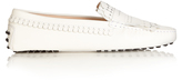 Tod's Heaven fringed-leather loafers