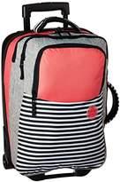 Roxy Women's Roll up Flight Suitcase