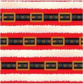Jillson & Roberts Set Of 3 Santa's Belt Jumbo Gift Wrap Rolls