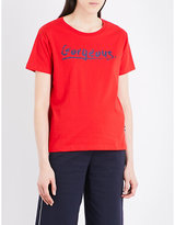 Izzue Gorgeous cotton-jersey T-shirt