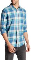 Faherty Ventura Plaid Long Sleeve Regular Fit Shirt