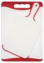 Architec 2 Piece Non-Slip Plastic Cutting and Paddle Board Set