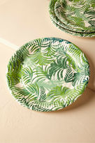 BHLDN Tropical Palms Paper Plates (12)
