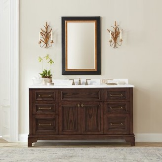 "Martha Stewart Skylands Coach House 60"" Single Bathroom Vanity Set"